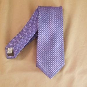 JP Tillford Silk Tie - purple